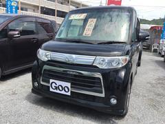 沖縄の中古車 ダイハツ タント 車両価格 68万円 リ済込 平成23年 8.8万K ブラック