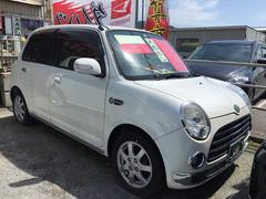 沖縄の中古車 ダイハツ ミラジーノ 車両価格 56万円 リ済込 平成20年 6.2万K パールホワイト
