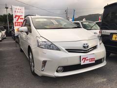 沖縄の中古車 トヨタ プリウスアルファ 車両価格 ASK リ済込 平成26年 5.2万K パール