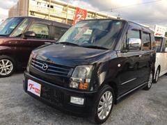 沖縄の中古車 マツダ AZワゴン 車両価格 29万円 リ済込 平成18年 10.4万K ブラック