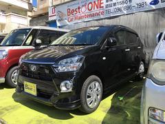 沖縄の中古車 ダイハツ ミライース 車両価格 129.6万円 リ済込 新車  ブラックM