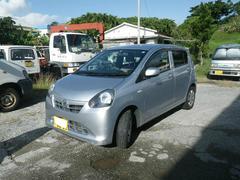 沖縄の中古車 ダイハツ ミライース 車両価格 49万円 リ済込 平成23年 8.0万K シルバー