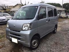 沖縄の中古車 ダイハツ ハイゼットカーゴ 車両価格 39万円 リ済込 平成23年 15.9万K シルバー
