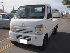 沖縄の中古車 マツダ スクラムトラック 車両価格 35万円 リ済込 平成18年 12.8万K ホワイト