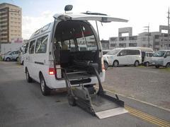 沖縄の中古車 日産 キャラバンマイクロバス 車両価格 53万円 リ済込 平成15年 18.4万K ホワイト
