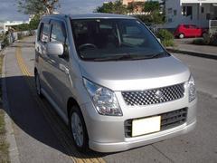 沖縄の中古車 スズキ ワゴンR 車両価格 49万円 リ済込 平成21年 6.9万K ライトグレーM
