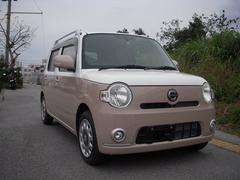 沖縄の中古車 ダイハツ ミラココア 車両価格 55万円 リ済込 平成23年 5.3万K ピンクM