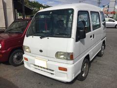 沖縄の中古車 スバル サンバーバン 車両価格 38万円 リ済込 平成10年 14.6万K ホワイト