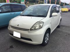 沖縄の中古車 トヨタ パッソ 車両価格 25万円 リ済込 平成18年 10.0万K クリーム