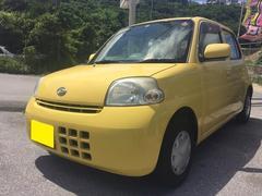 沖縄の中古車 ダイハツ エッセ 車両価格 35万円 リ済込 平成18年 5.4万K イエロー