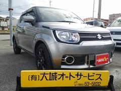 沖縄の中古車 スズキ イグニス 車両価格 140万円 リ済込 平成28年 0.5万K シルバーM