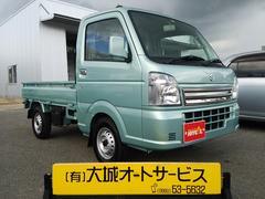 沖縄の中古車 スズキ キャリイトラック 車両価格 95万円 リ済込 平成28年 500K LグリーンM