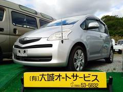 沖縄の中古車 トヨタ ラクティス 車両価格 25万円 リ済込 平成17年 14.3万K シルバーM