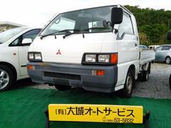 沖縄の中古車 三菱 デリカトラック 車両価格 29万円 リ済込 平成11年 16.6万K ホワイト
