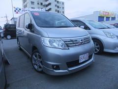 沖縄の中古車 日産 セレナ 車両価格 49万円 リ済込 平成20年 9.4万K シルバー