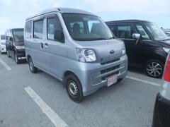 沖縄の中古車 スバル サンバーバン 車両価格 59万円 リ済込 平成24年 7.4万K シルバー