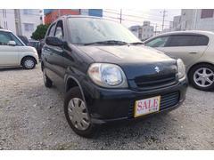 沖縄の中古車 スズキ Kei 車両価格 16.5万円 リ済込 平成18年 9.3万K ブラック