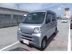 沖縄の中古車 ダイハツ ハイゼットカーゴ 車両価格 58万円 リ済込 平成25年 9.5万K シルバー
