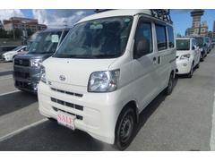 沖縄の中古車 ダイハツ ハイゼットカーゴ 車両価格 58万円 リ済込 平成25年 8.1万K ホワイト
