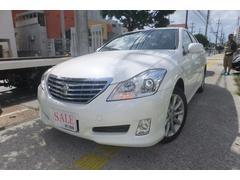 沖縄の中古車 トヨタ クラウン 車両価格 79万円 リ済込 平成20年 12.7万K パール
