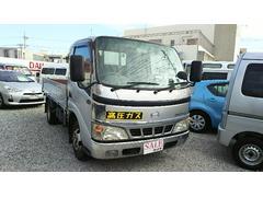 沖縄の中古車 日野 デュトロ 車両価格 69万円 リ済込 平成17年 21.7万K シルバー