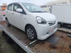 沖縄の中古車 ダイハツ ミライース 車両価格 39万円 リ済込 平成25年 8.2万K ホワイト