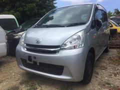 沖縄の中古車 ダイハツ ムーヴ 車両価格 48万円 リ済込 平成24年 7.2万K シルバー