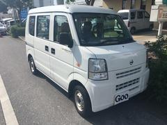 沖縄の中古車 日産 NV100クリッパーバン 車両価格 69万円 リ済別 平成26年 4.9万K ホワイト