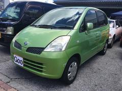 沖縄の中古車 日産 モコ 車両価格 15万円 リ済込 平成14年 14.4万K モコグリーンM