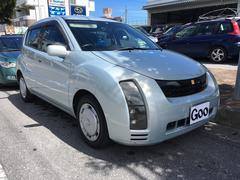 沖縄の中古車 トヨタ WiLL サイファ 車両価格 19万円 リ済込 平成15年 8.0万K ライトブルーM