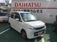 沖縄の中古車 スバル ステラ 車両価格 33万円 リ済込 平成20年 12.9万K シルキーホワイトパール