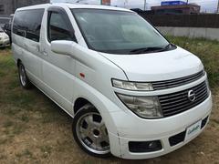 沖縄の中古車 日産 エルグランド 車両価格 28万円 リ済別 平成14年 14.1万K パール