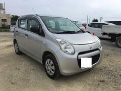 沖縄の中古車 スズキ アルト 車両価格 33万円 リ済別 平成24年 8.6万K シルバー