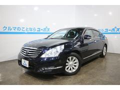 沖縄の中古車 日産 ティアナ 車両価格 70万円 リ済別 平成20年 6.3万K サファイアブラックP