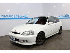 沖縄の中古車 ホンダ シビック 車両価格 95万円 リ済込 平成12年 13.4万K チャンピオンシップホワイト