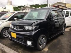 沖縄の中古車 ホンダ ゼストスパーク 車両価格 68万円 リ済込 平成23年 6.1万K ブラック