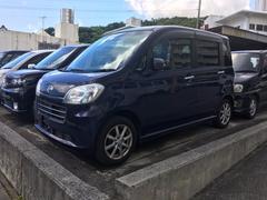 沖縄の中古車 ダイハツ タントエグゼ 車両価格 65万円 リ済込 平成23年 6.0万K 紺