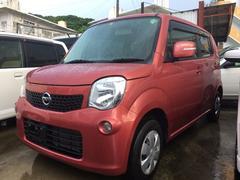 沖縄の中古車 日産 モコ 車両価格 65万円 リ済込 平成24年 4.3万K ピンク