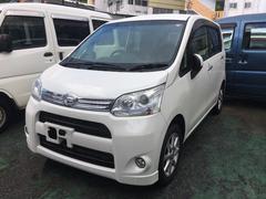 沖縄の中古車 ダイハツ ムーヴ 車両価格 75万円 リ済込 平成24年 6.4万K パール