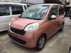 沖縄の中古車 ホンダ ライフ 車両価格 55万円 リ済込 平成22年 7.3万K ピンク