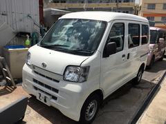 沖縄の中古車 ダイハツ ハイゼットカーゴ 車両価格 55万円 リ済込 平成23年 9.6万K ホワイト