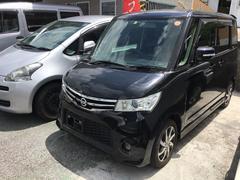 沖縄の中古車 日産 ルークス 車両価格 89万円 リ済別 平成25年 2.7万K ブラック