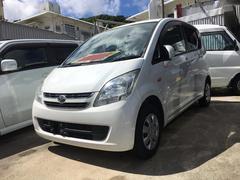 沖縄の中古車 ダイハツ ムーヴ 車両価格 35万円 リ済込 平成20年 9.6万K ホワイト