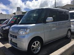 沖縄の中古車 ダイハツ タント 車両価格 59万円 リ済別 平成23年 8.6万K シルバー