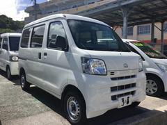 沖縄の中古車 ダイハツ ハイゼットグランカーゴ 車両価格 55万円 リ済込 平成23年 9.3万K ホワイト