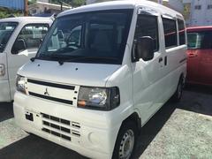 沖縄の中古車 三菱 ミニキャブバン 車両価格 48万円 リ済別 平成23年 9.2万K ホワイト