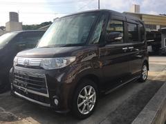 沖縄の中古車 ダイハツ タント 車両価格 79万円 リ済込 平成25年 8.9万K ダークパープル
