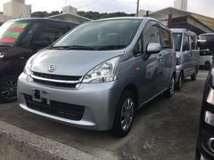 沖縄の中古車 ダイハツ ムーヴ 車両価格 55万円 リ済込 平成24年 7.4万K シルバー
