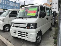 沖縄の中古車 三菱 ミニキャブバン 車両価格 45万円 リ済込 平成22年 9.1万K ホワイト
