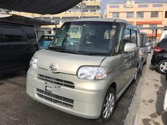 沖縄の中古車 ダイハツ タント 車両価格 68万円 リ済込 平成24年 2.8万K シャンパンゴールド